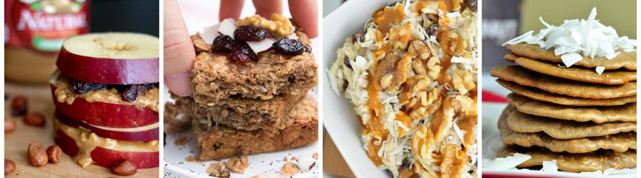 Healthy Peanut Butter Breakfast Recipes