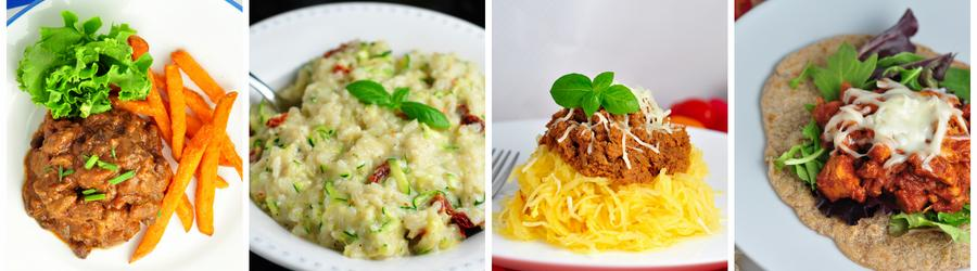 Egg-Free Dinner and Lunch Recipes