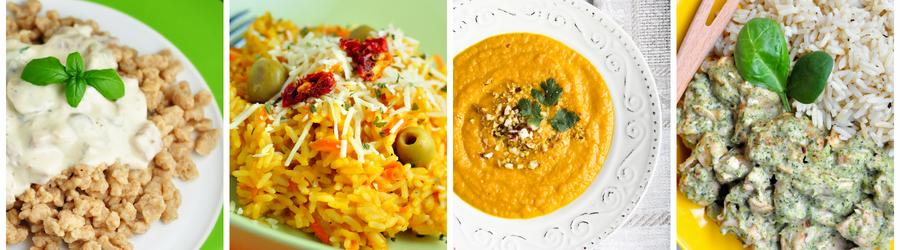 Low Fat Dinner and Lunch Recipes