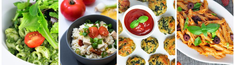 Healthy Vegetarian Recipes (Meatless)